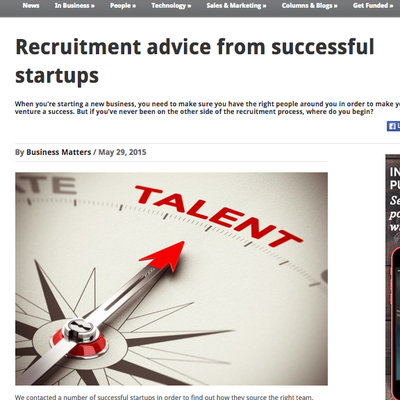 Business Matters - Recruitment Advice