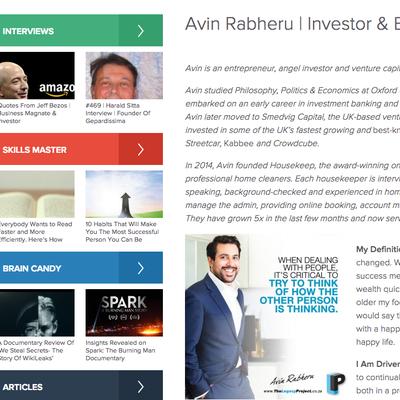 The Legacy Project - Avin Rabheru