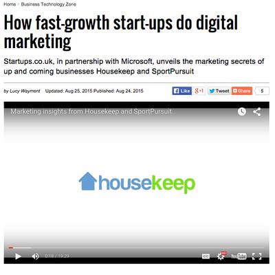 Startups.co.uk: How Fast-Growth Startups Do Digital Marketing