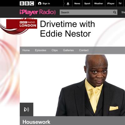 BBC Radio London: Drivetime with Eddie Nestor