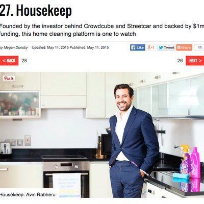 Startups 100 - Housekeep at #27