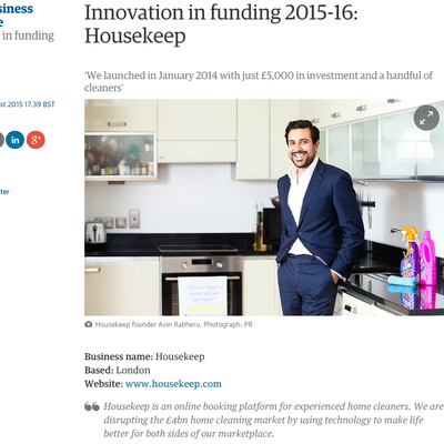 The Guardian Innovation in Funding