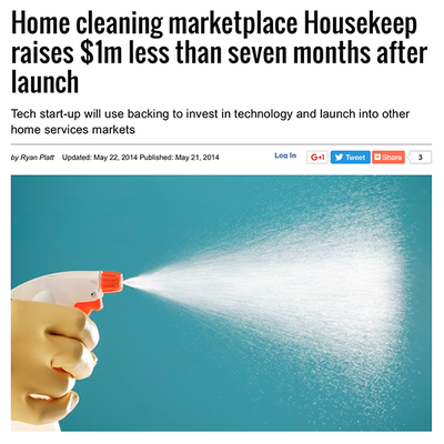 Startups: Home cleaning marketplace Housekeep raises $1m less than seven months after launch