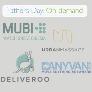 Fathers Day On-Demand: Last Minute Gifts in London
