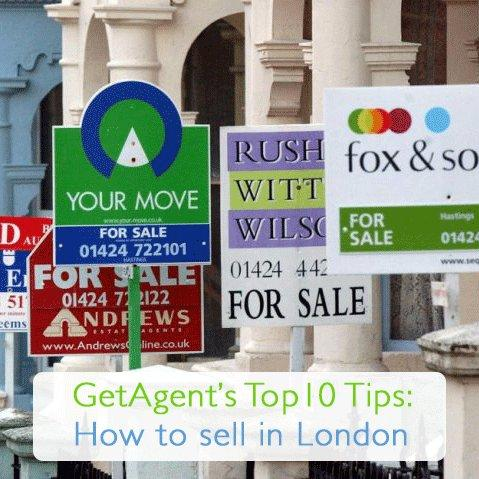 Top 10 Tips: Selling Your Home in London
