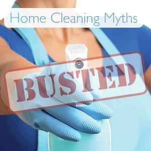 5 of the Most Ridiculous Cleaning Myths you should NEVER try at home...