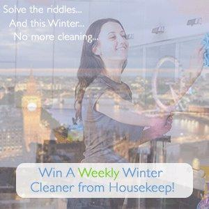 Win a Weekly Winter Home Cleaner!