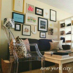 How to decorate small flats. Advice from the best, York Avenue's Jackie!
