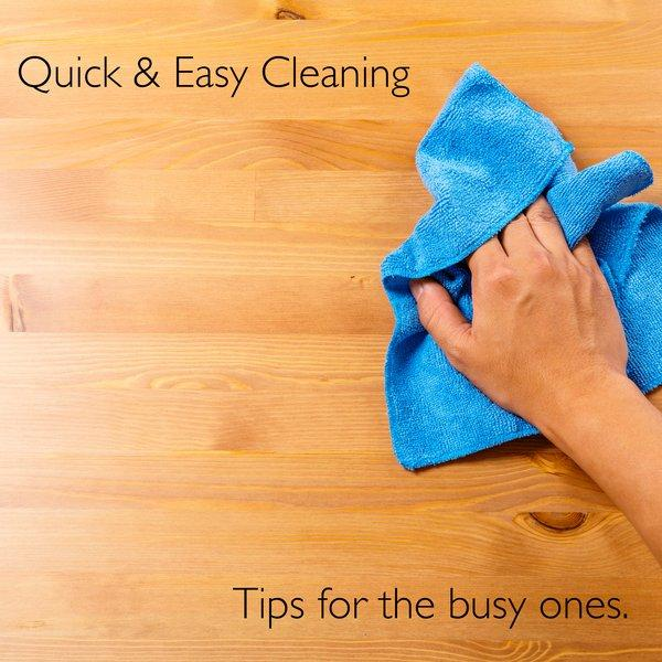 5 Quick & Easy Ways to Sparkle Between Cleans!