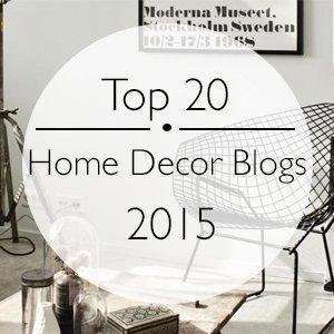 The Top 20 Home Decor Blogs of 2015