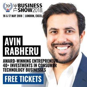 Housekeep CEO, Avin Rabheru, at the Business Show 2018