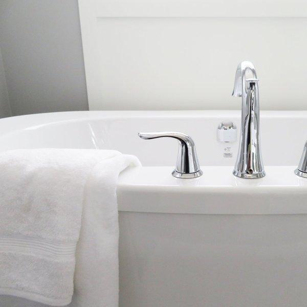How we clean a bath