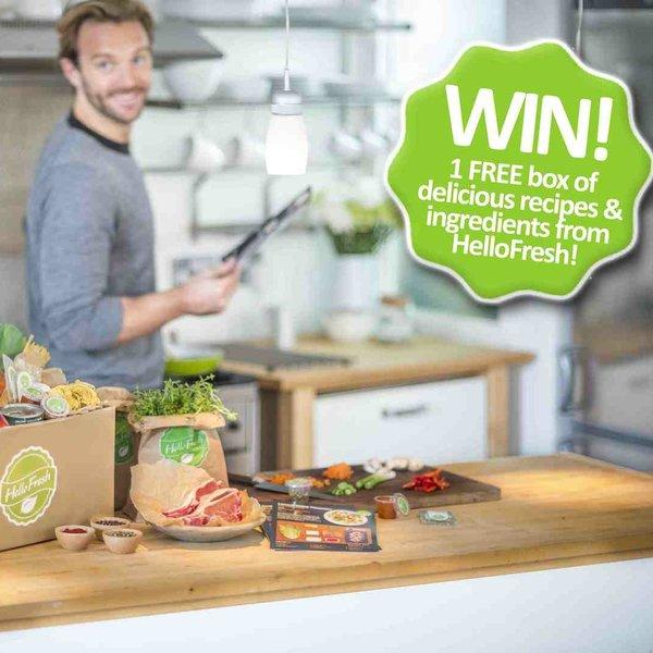 Housekeep Competition... Win a free box from HelloFresh!