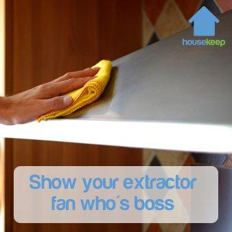 Housekeep How to: Clean your Extractor Fan